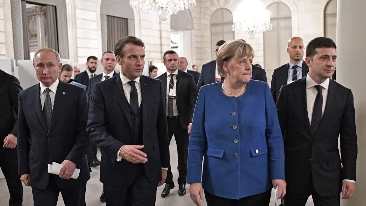 Путин хочет вывести Германию и Францию из переговоров