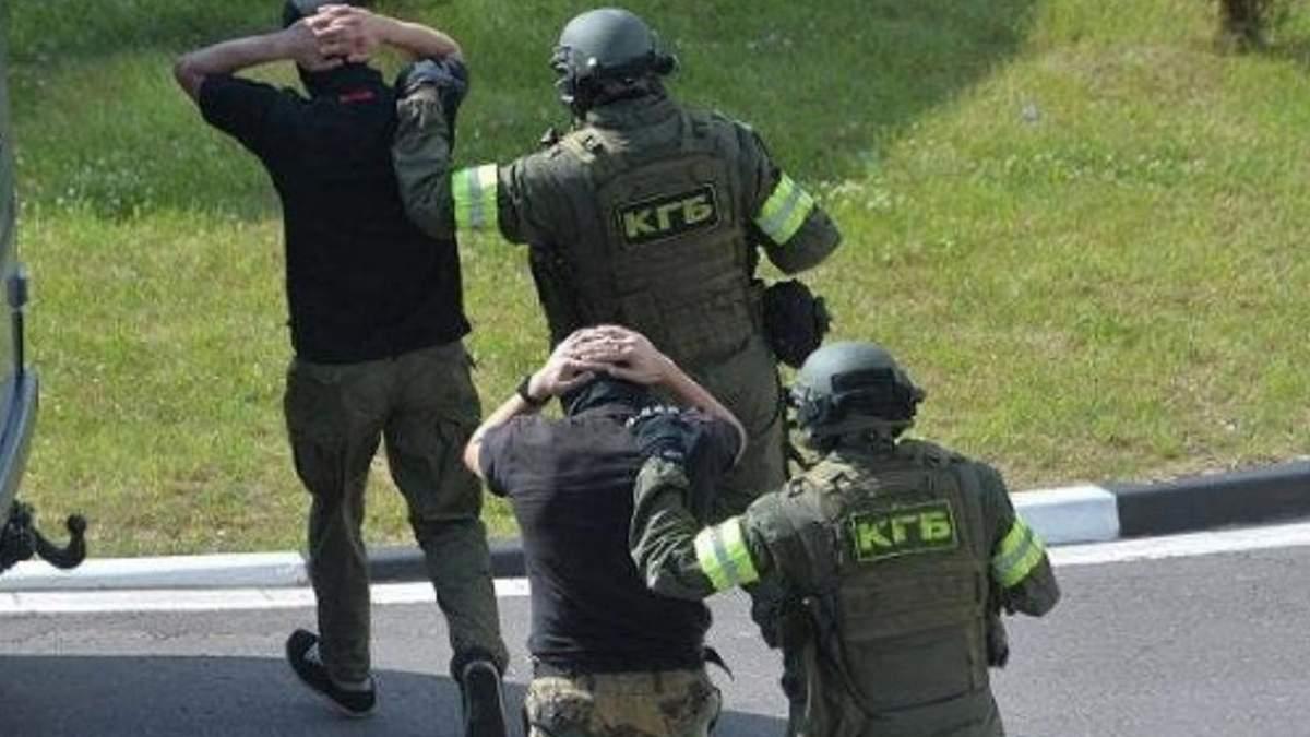 Білорусь надіслала список затриманих бойовиків