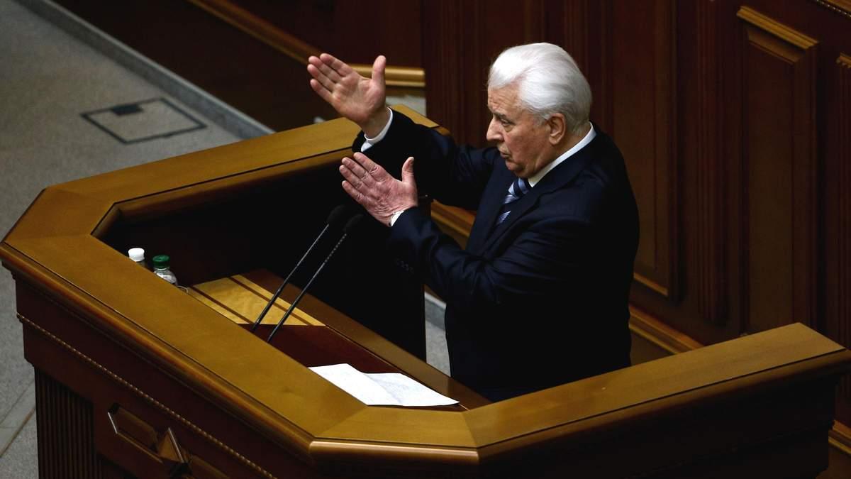 Кравчук розповів про компроміси у вирішенні конфлікту на Донбасі