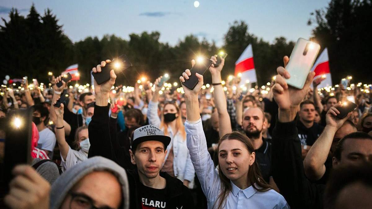 Первый шаг к независимости Беларуси уже сделано
