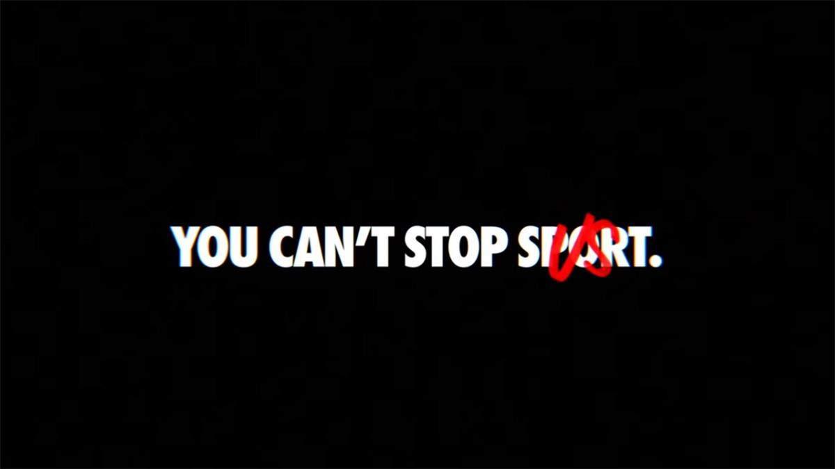 Вы не можете остановить спорт: Nike представил новую рекламу