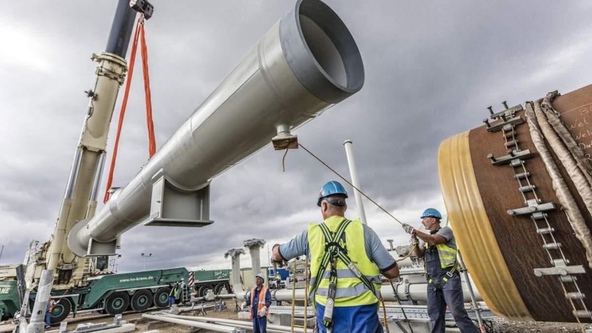 Строительство газопровода могут вскоре восстановить