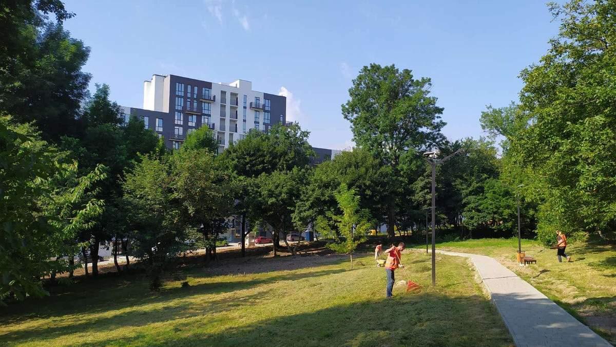 Парк змінюється щодня