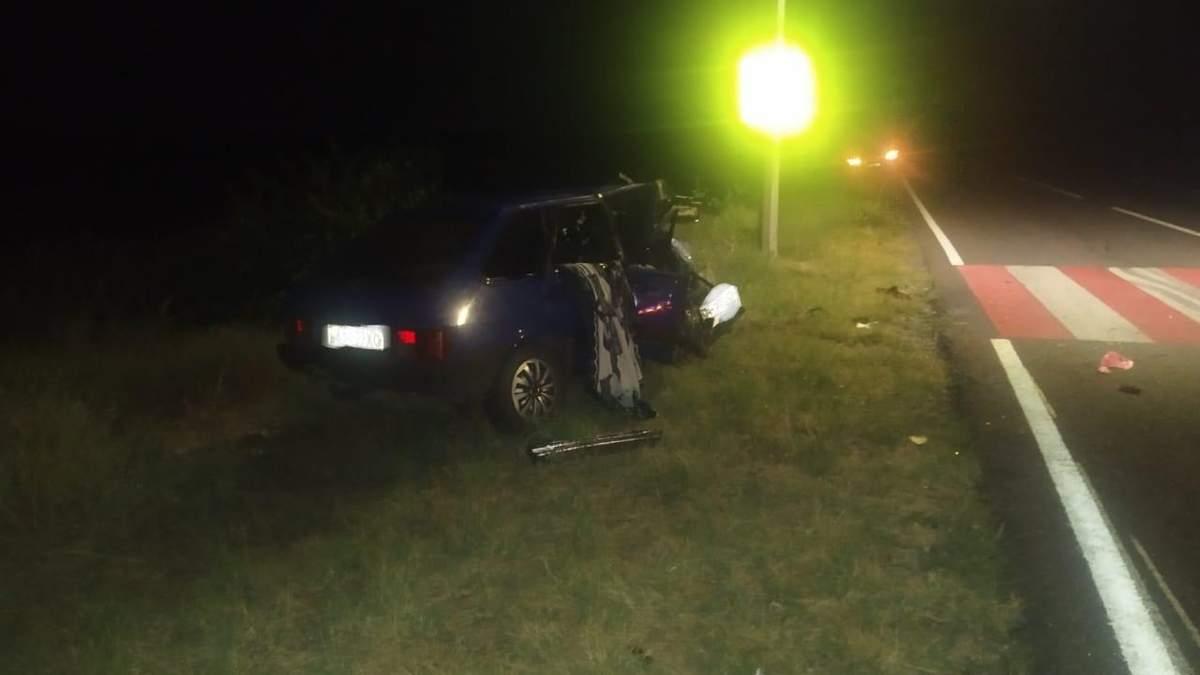 ДТП на Херсонщине 30.07.2020: столкнулись 3 автомобиля