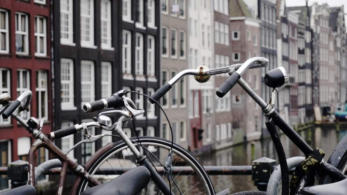 В Амстердамі вже утворюються затори з велосипедистів
