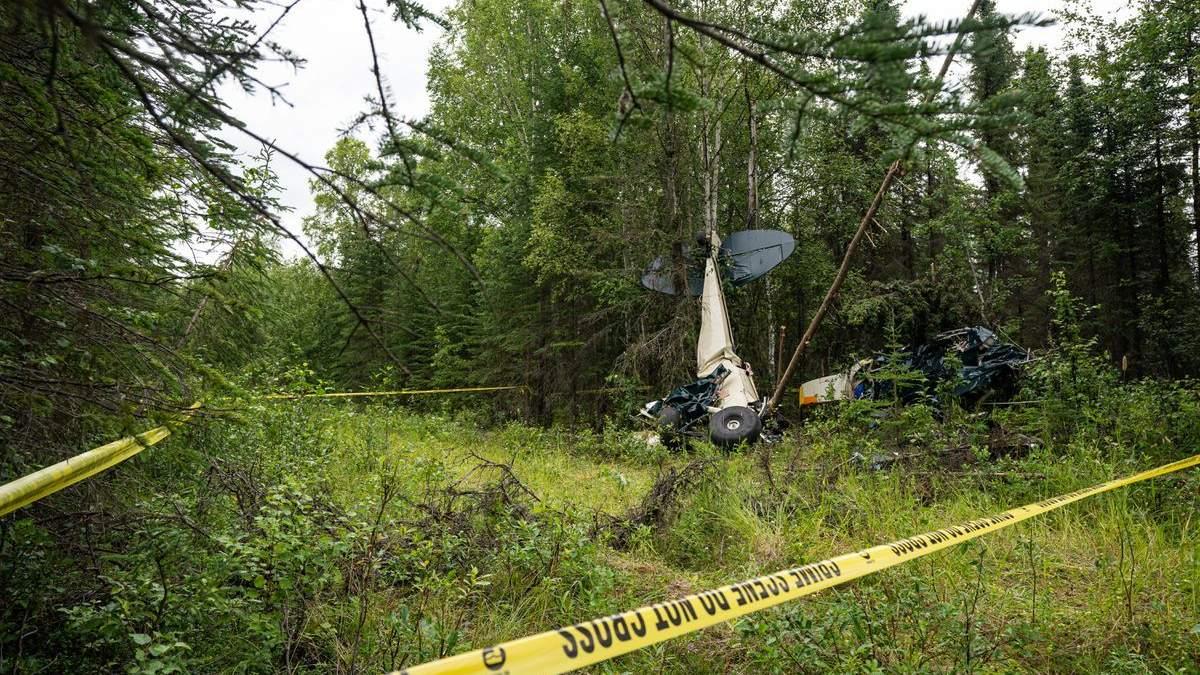 Авіакатастрофа у небі над Аляскою