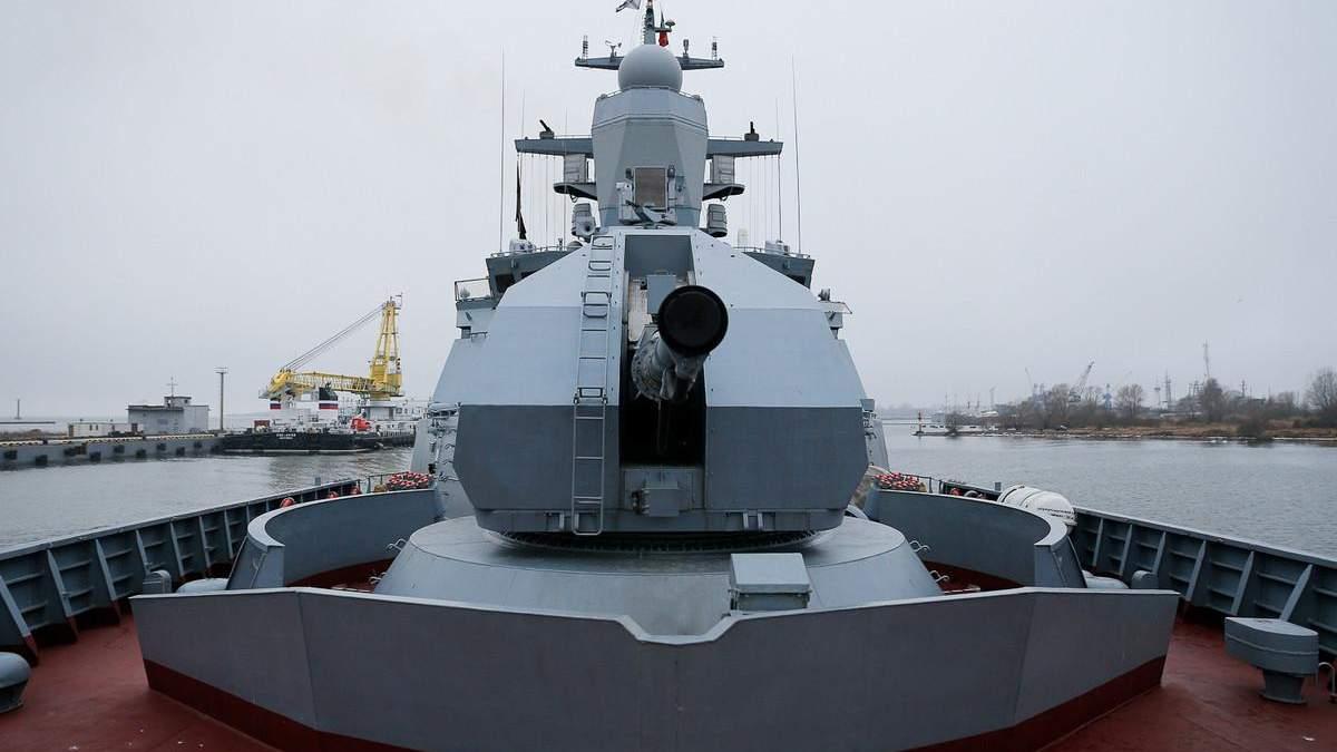 Російські військові провели артилерійські стрільби біля берегів Криму