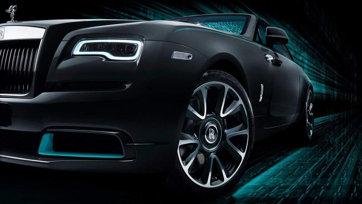 Rolls-Royce Wraith Kryptos: авто зі зашифрованим посланням – фото