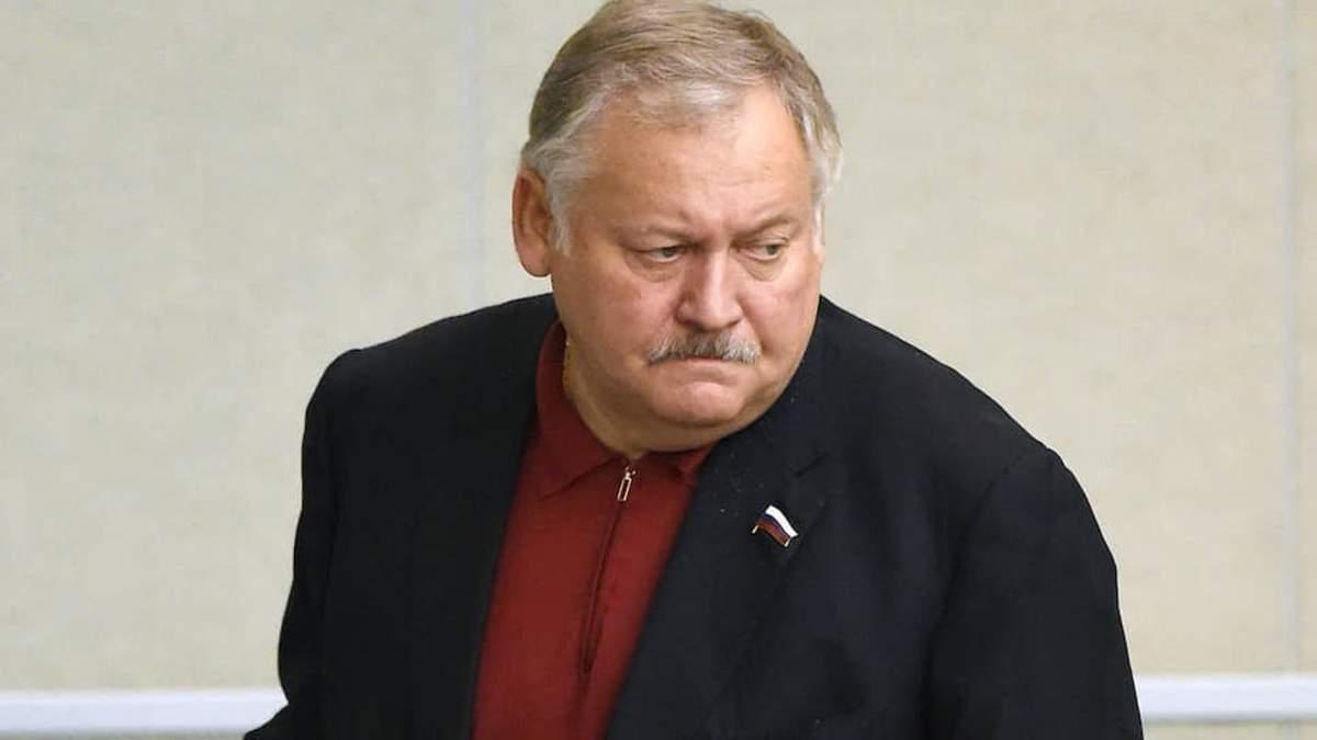 Російський політик-українофоб Костянтин Затулін