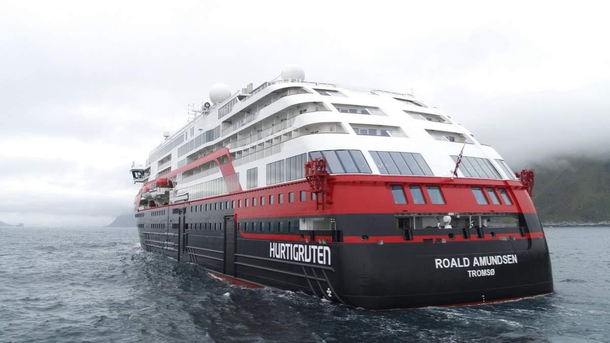 Вспышка коронавируса на круизном лайнере Roald Amundsen