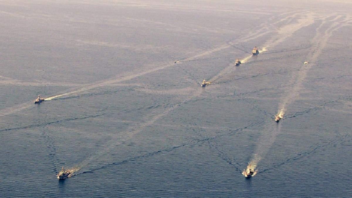 Армия США провела военные учения в Черном море