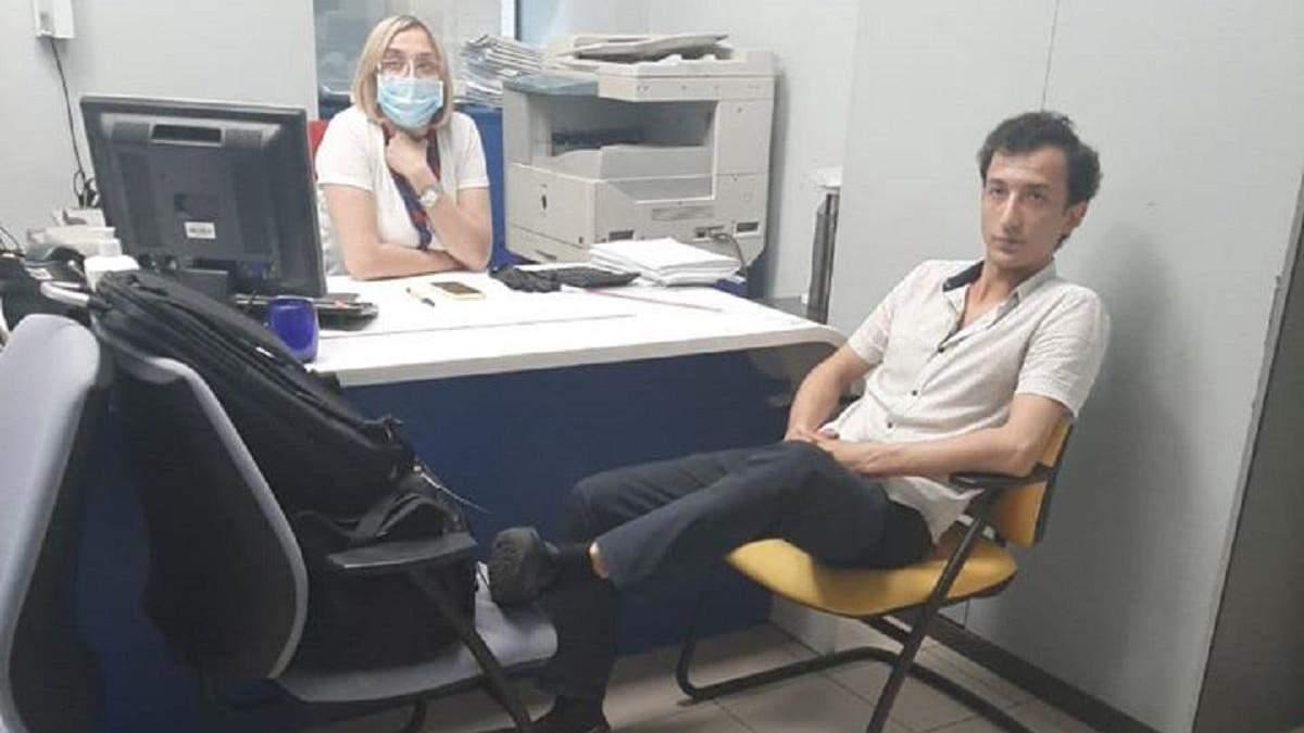 Київського терориста затримали силовики