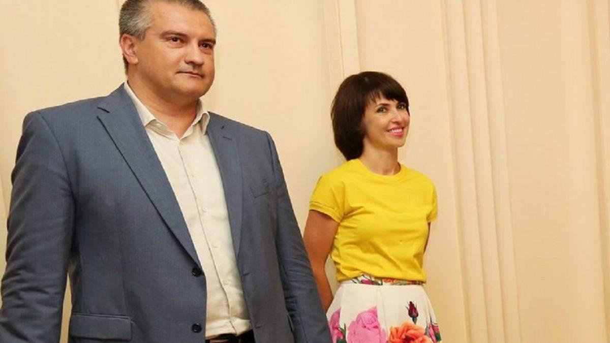 Аксенов з дружиною збагатився на 3 мільйони рублів