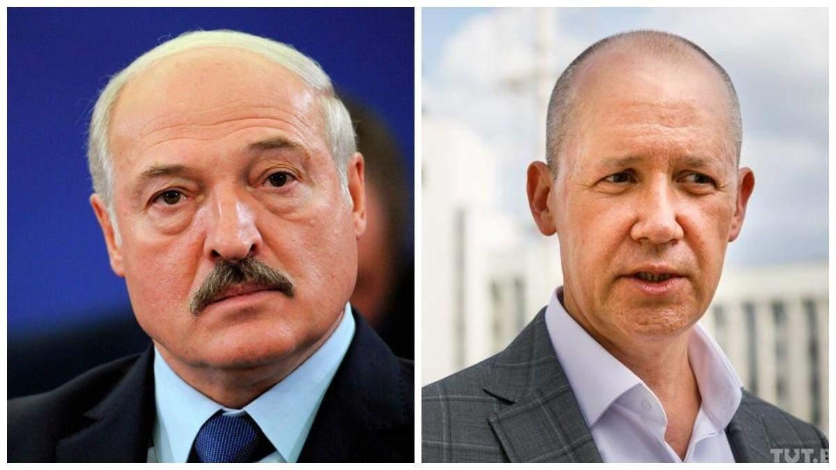 Александр Лукашенко и Валерий Цепкало