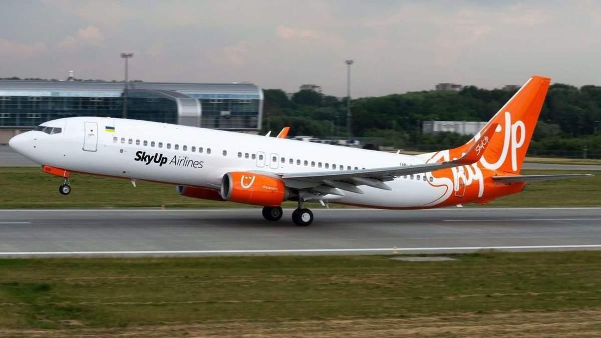 Українські рейси SkyUp літають із 62% заповненням