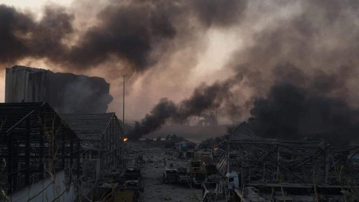 Мощный взрыв в Бейруте: в МИД рассказали, пострадали ли украинцы