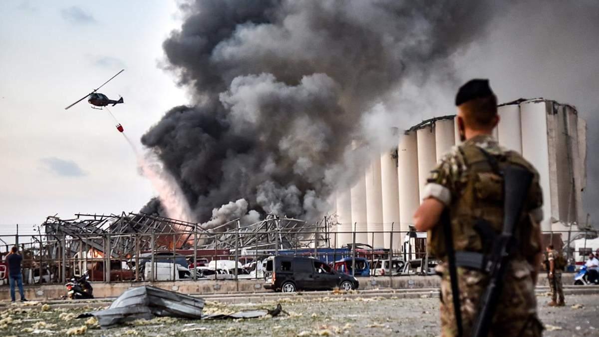 Сочувствие и рука помощи: реакция стран мира на взрыв в Бейруте