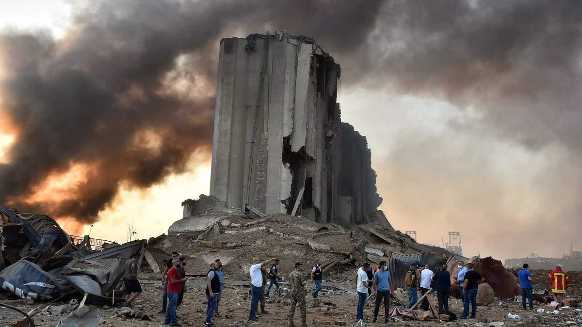 Фото з місця вибуху