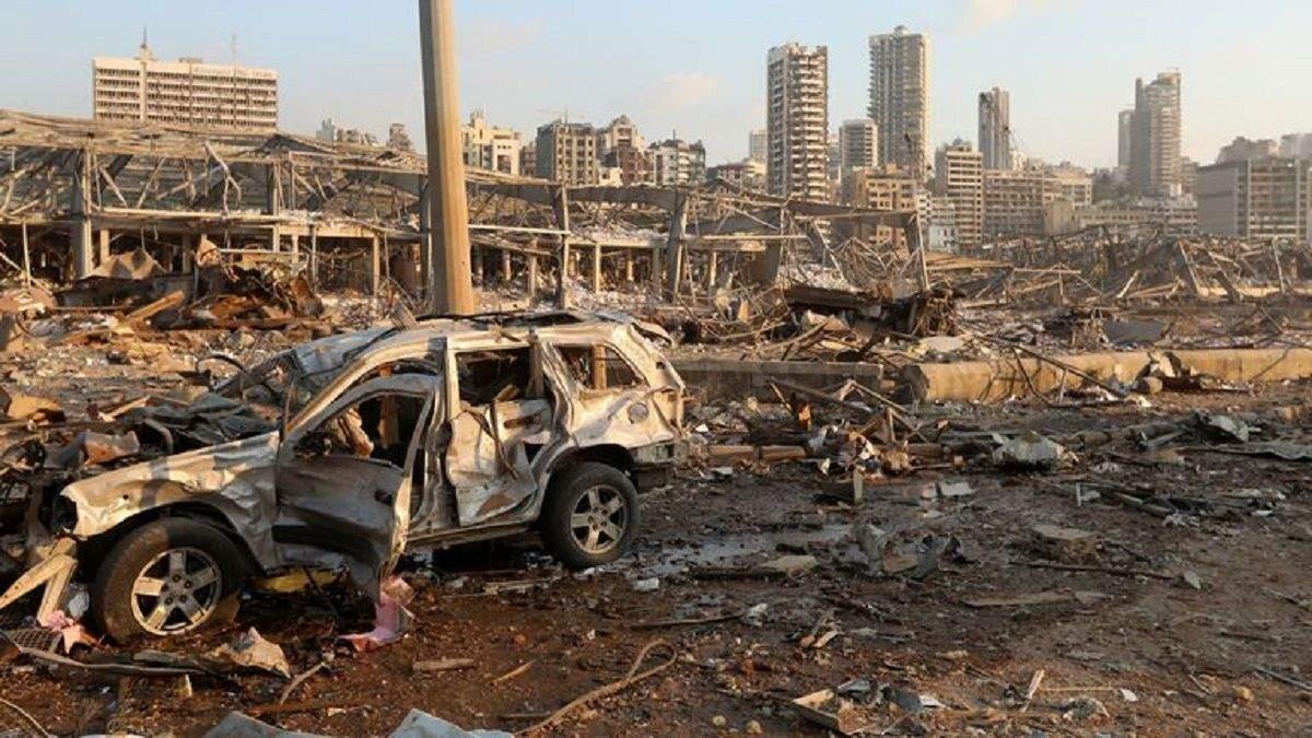 Вибух у Лівані: у Бейрутіь ввели надзвичайний стан