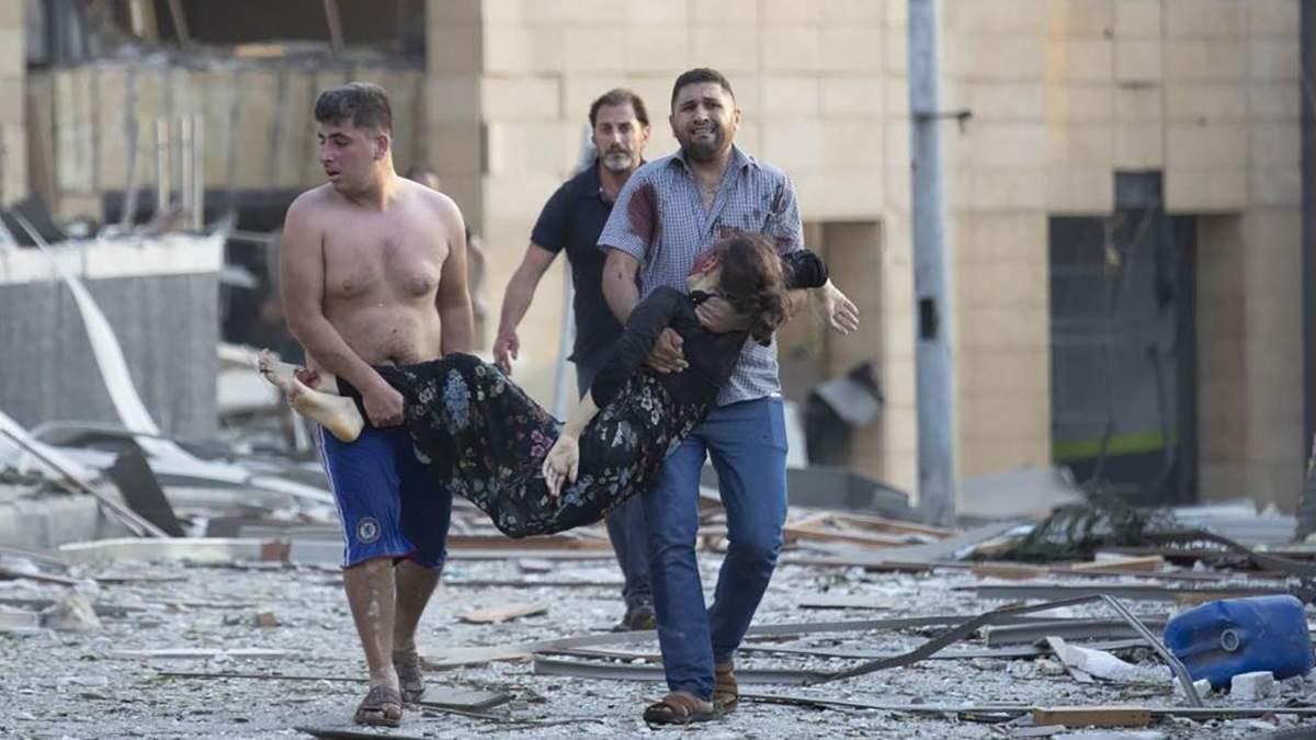 Вибух у Бейруті очима очевидиці