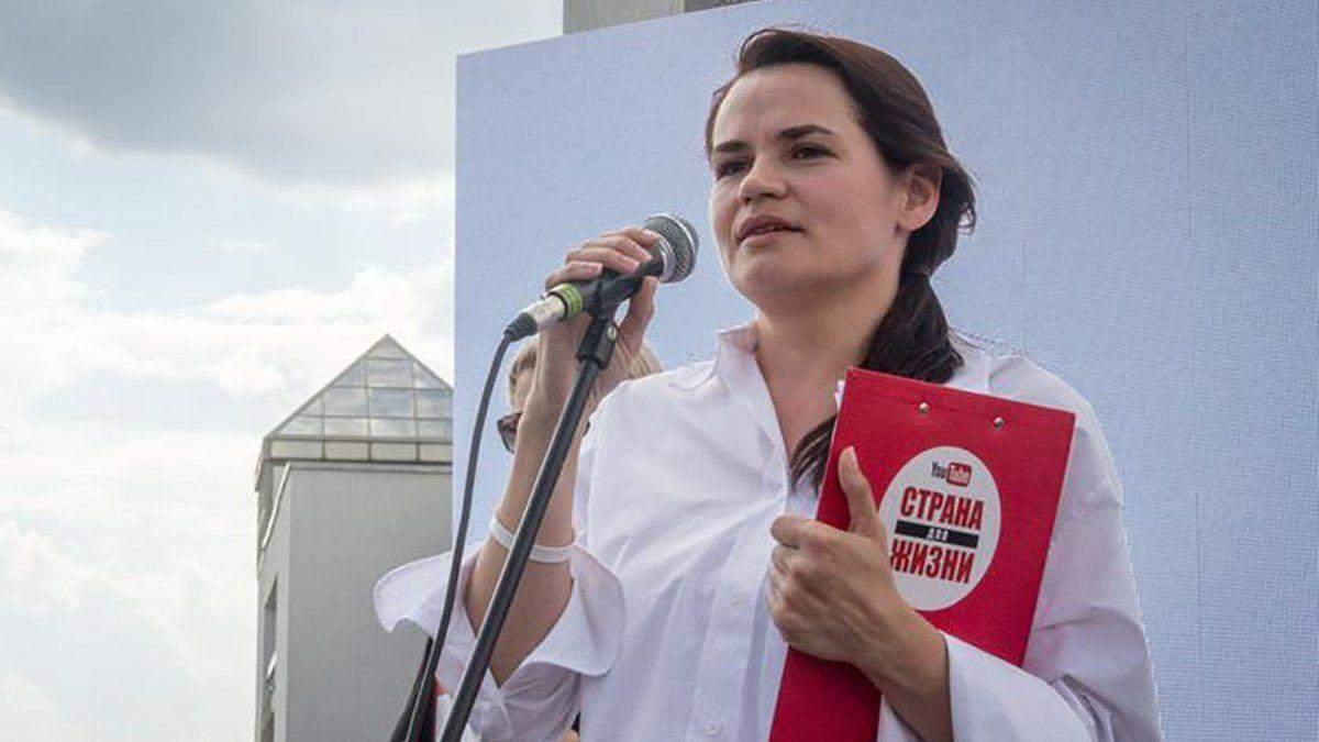 Оппонентка Лукашенко заявила, что ей угрожали с украинского номера