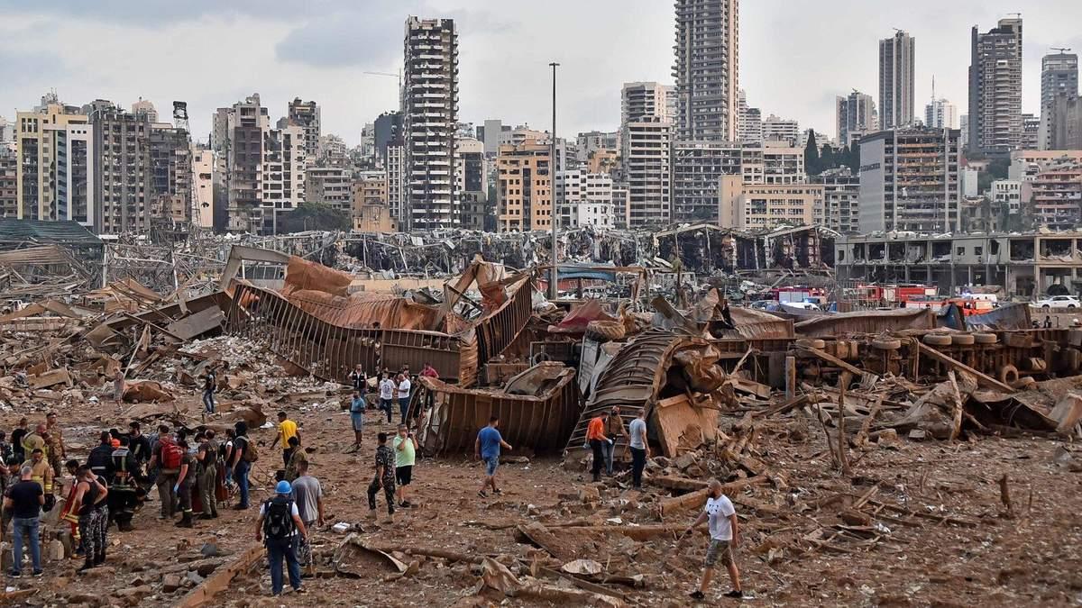 Бейрут після вибуху