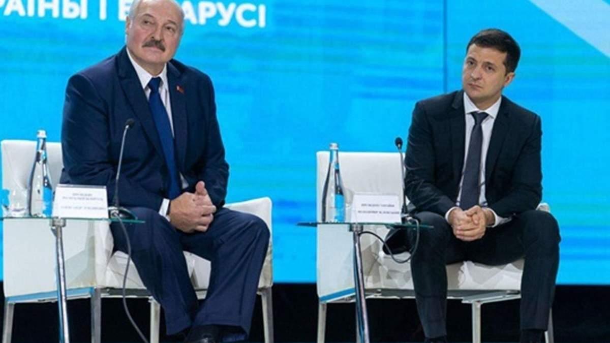 Зеленский по телефону поговорил с Лукашенко