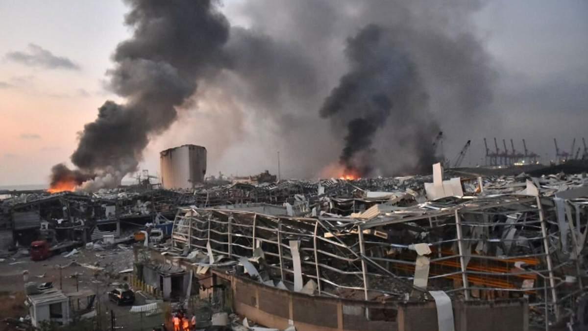 Вибух у Бейруті: адміністрацію порту відправлять під домашній арешт