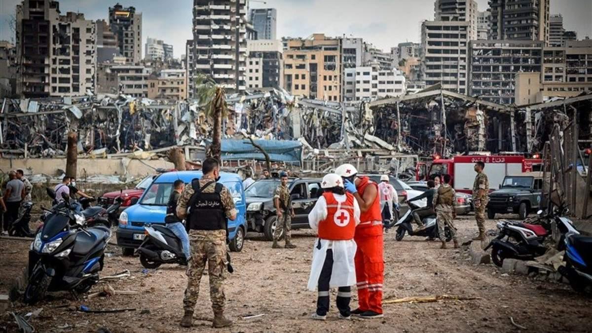 Вибух у Бейруті: митники роками просили вивезти аміачну селітру з ...