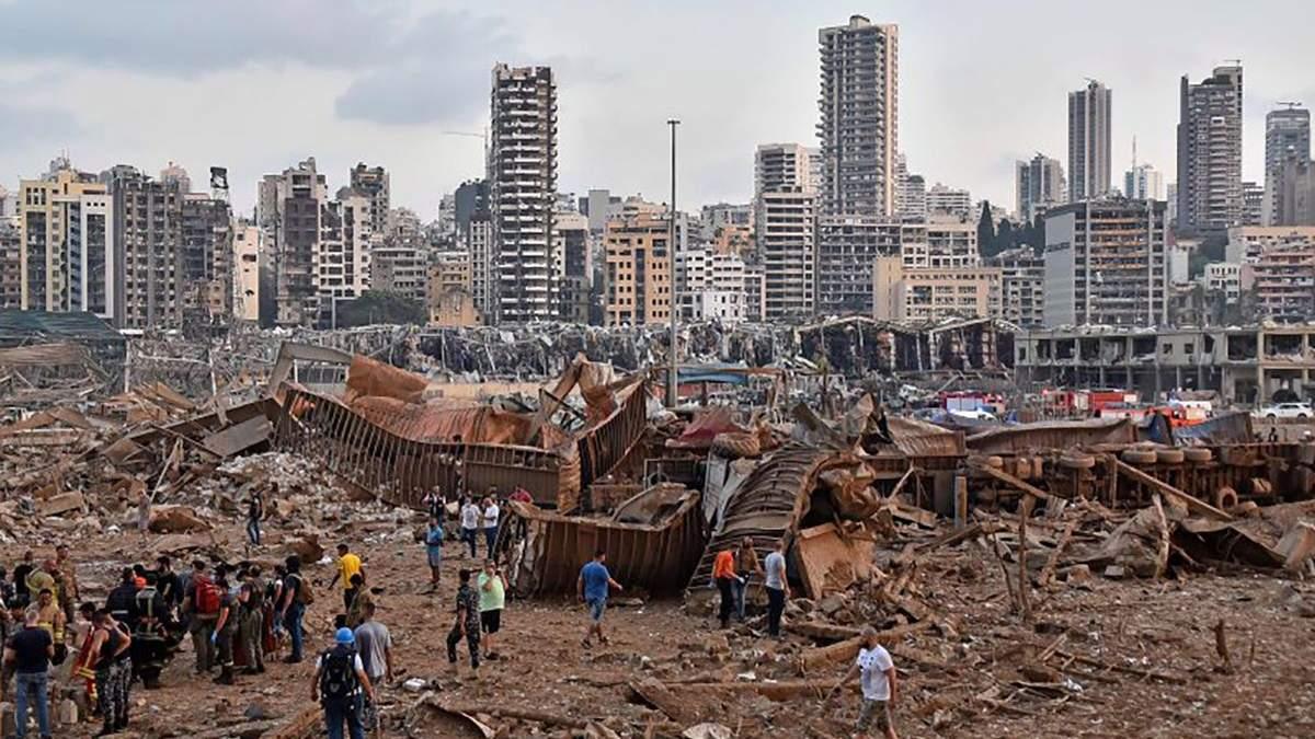 Вибухи в Бейруті: 30 українців попросили грошову допомогу – у 3 родин серйозно пошкоджено житло