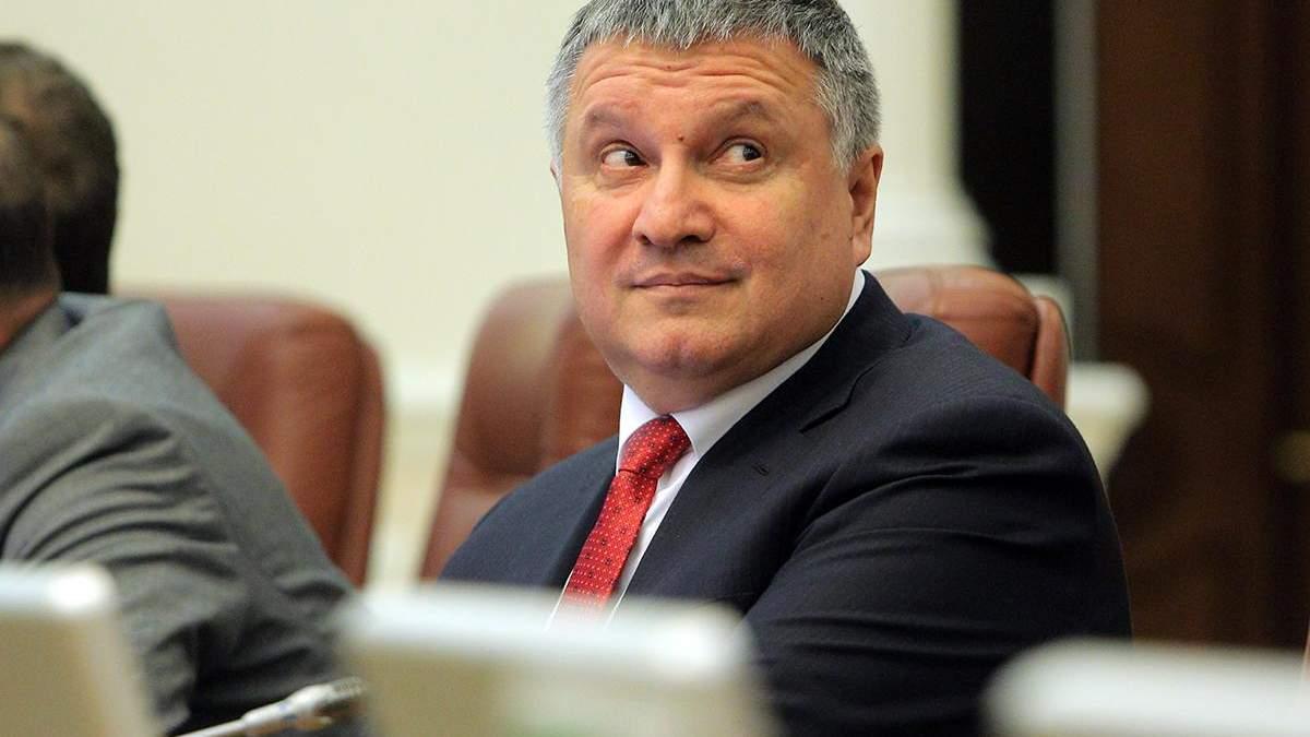 Очільник МВС України Арсен Аваков