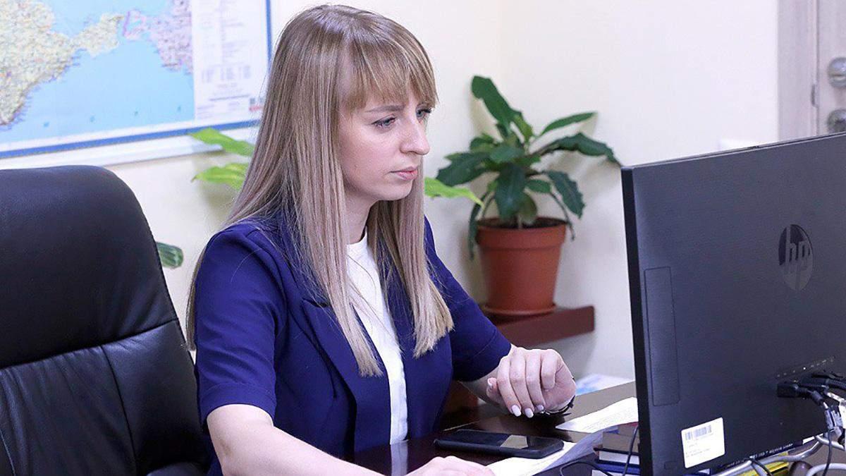 Заступниця міністра внутрішніх справ Катерина Павліченко