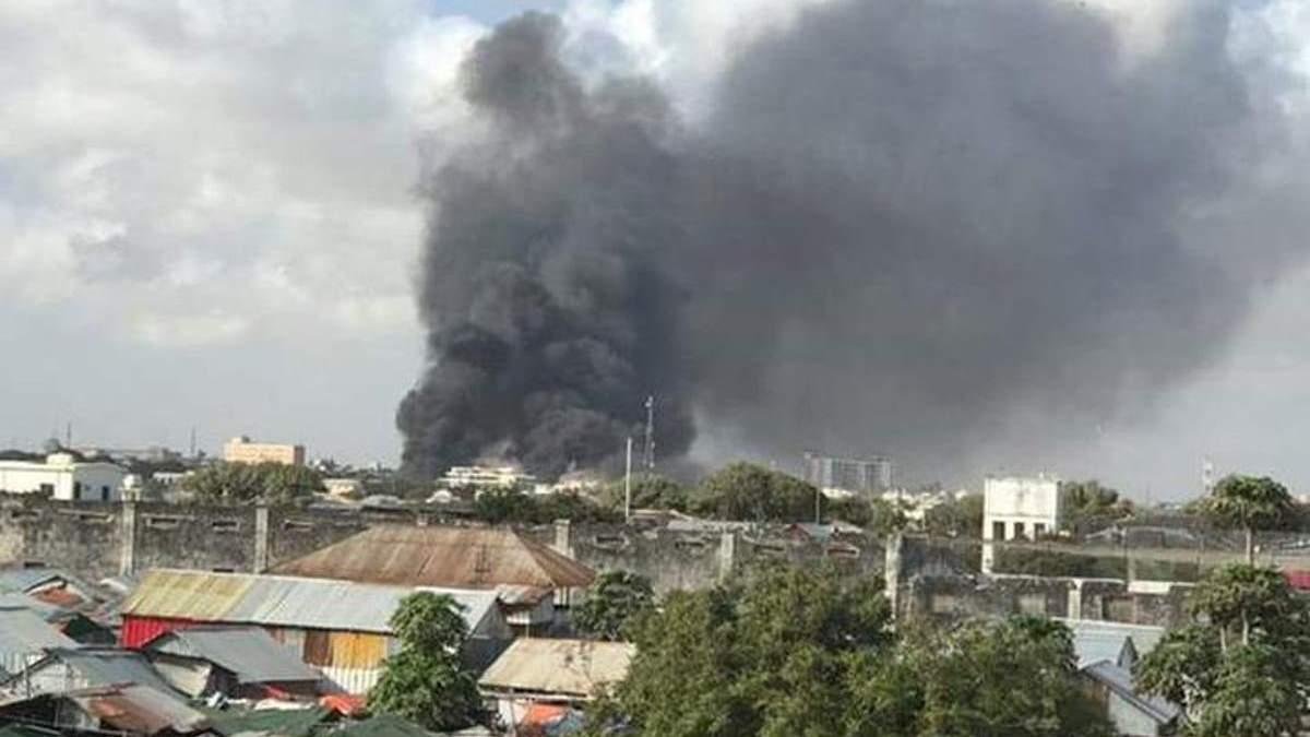 В Сомали возле военной базы прогремел взрыв, есть жертвы