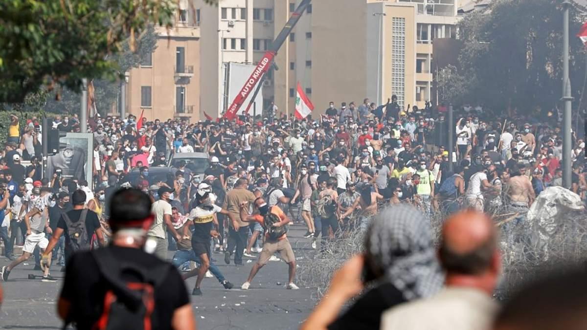 Протести і сутички в Бейруті 2020: відео, фото заворушень