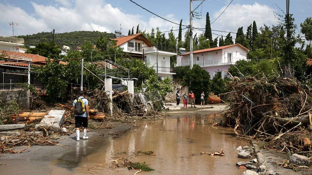 Потужний шторм у Греції: загинули 5 людей – фото, відео - 24 Канал
