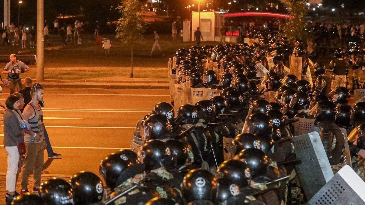Протесты в Беларуси после выборов 2020: реации Запада, мира