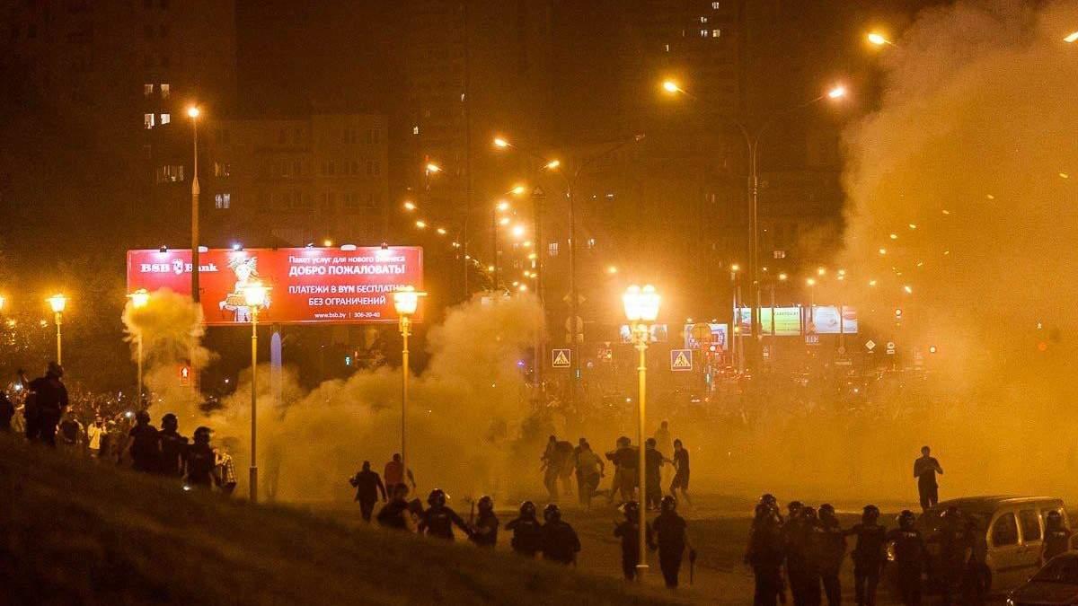 У Білорусі відкрили справи за фактом масових заворушень і насильство над правоохоронцями