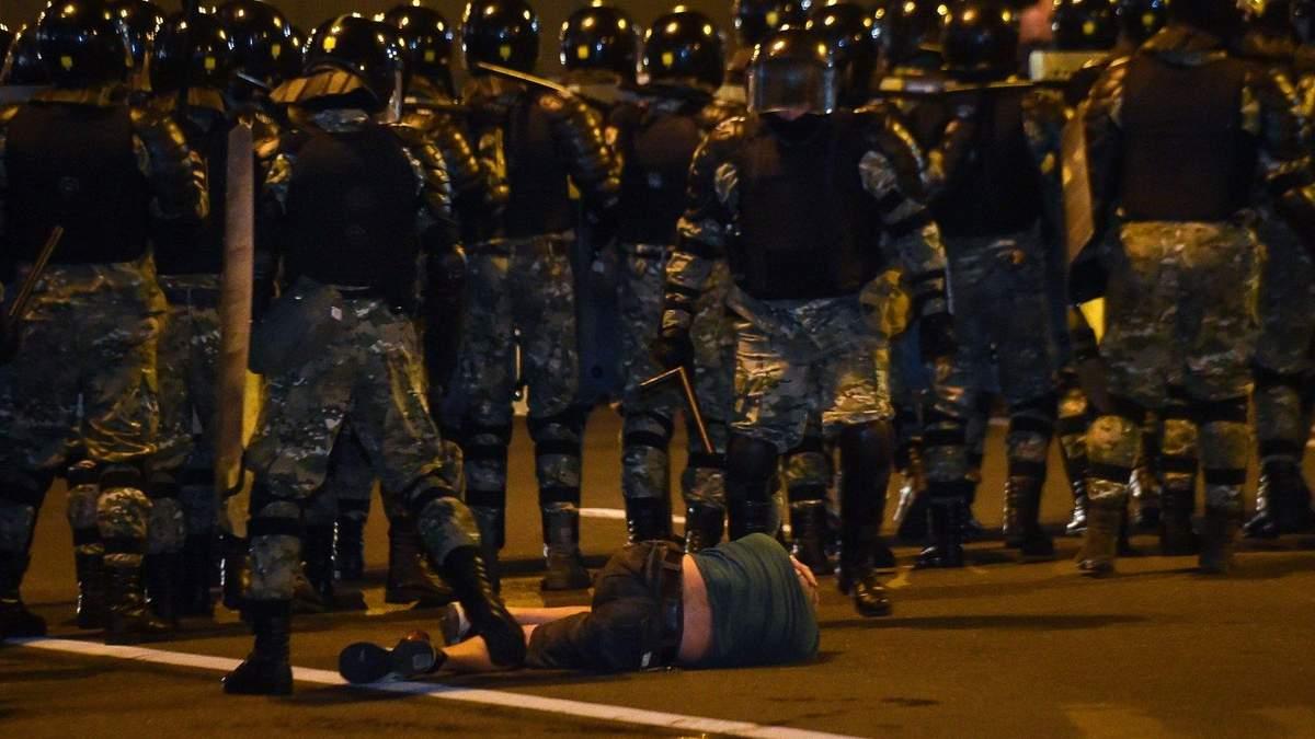 Протести в Білорусі: кількість затриманих і потерпілих