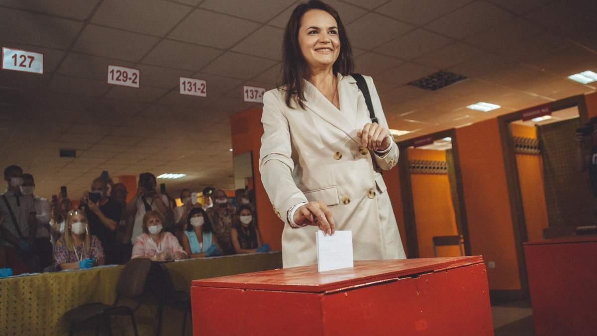 Зникнення Тихановської після візиту до ЦВК: де перебуває кандидатка в президенти