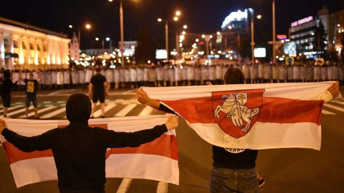 Кістяк протестувальників у Білорусі – небите покоління
