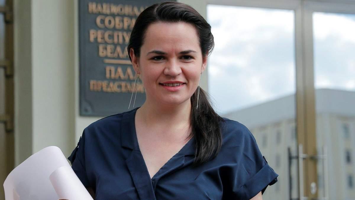 Кандидатка у президенти Білорусі Тихановська виїхала у Литву: причини