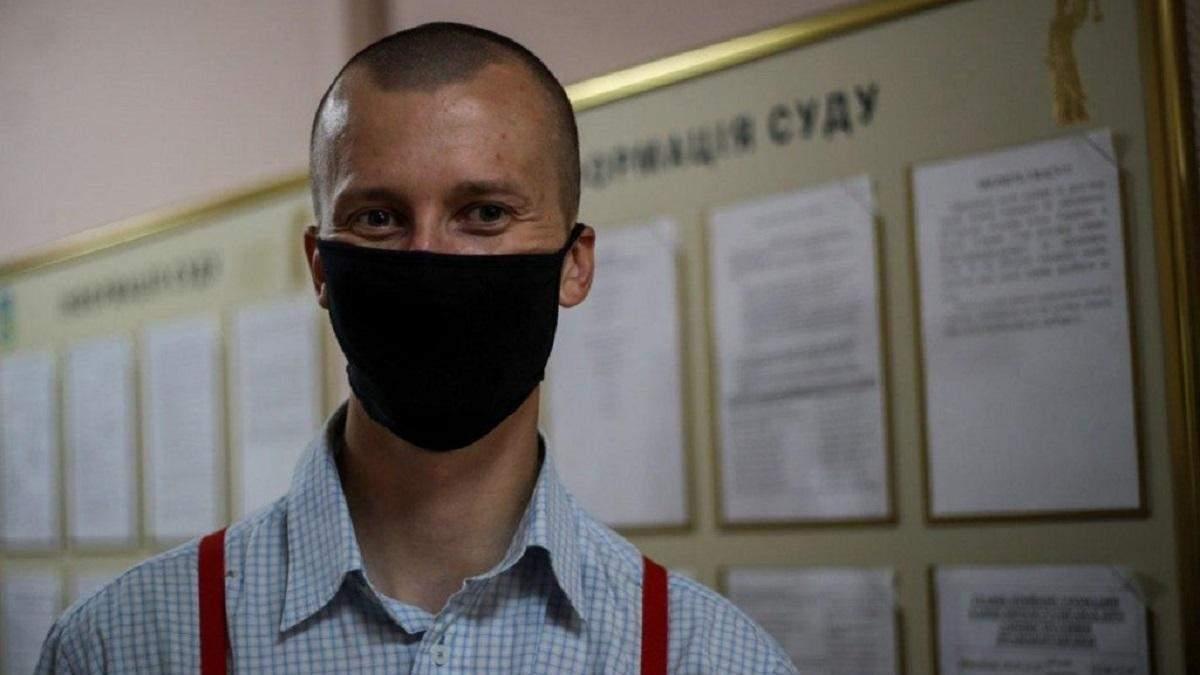Кольченка покарали виправними роботами за протест під посольством