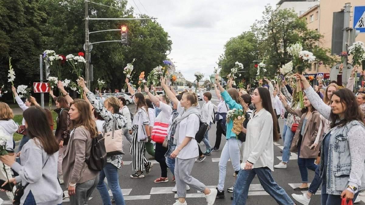 Протесты в Беларуси 12 августа 2020 – видео, фото митинга