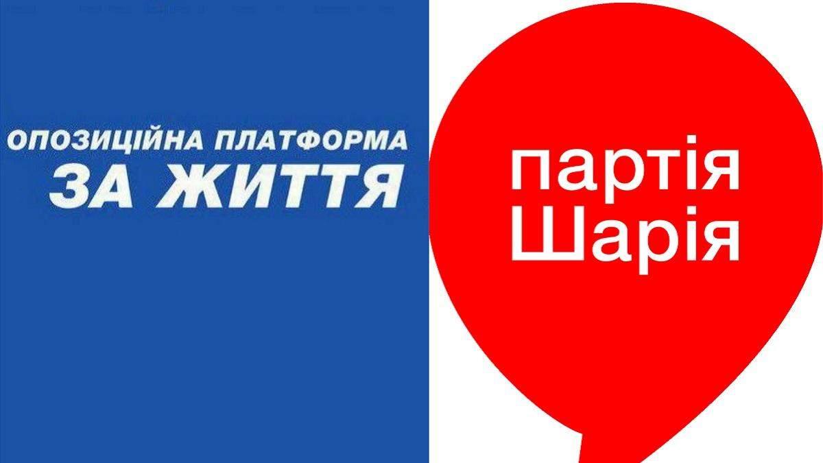 """В Україні можуть заборонити діяльність ОПЗЖ і """"Партії Шарія"""""""