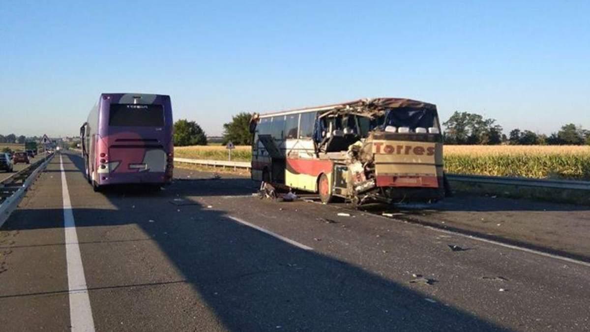 У Кіровоградській області 13 серпня 2020 ДТП з автобусами: фото