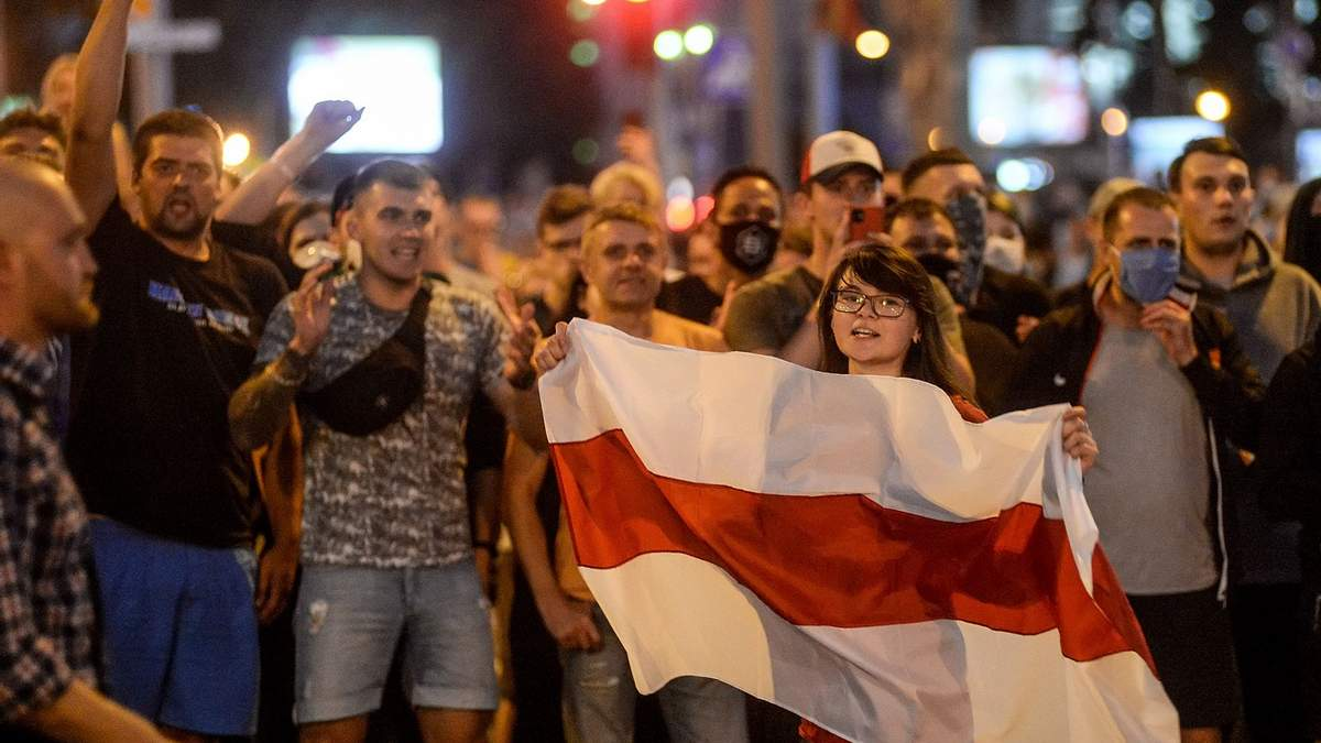 Протесты в Беларуси продолжаются пятый день