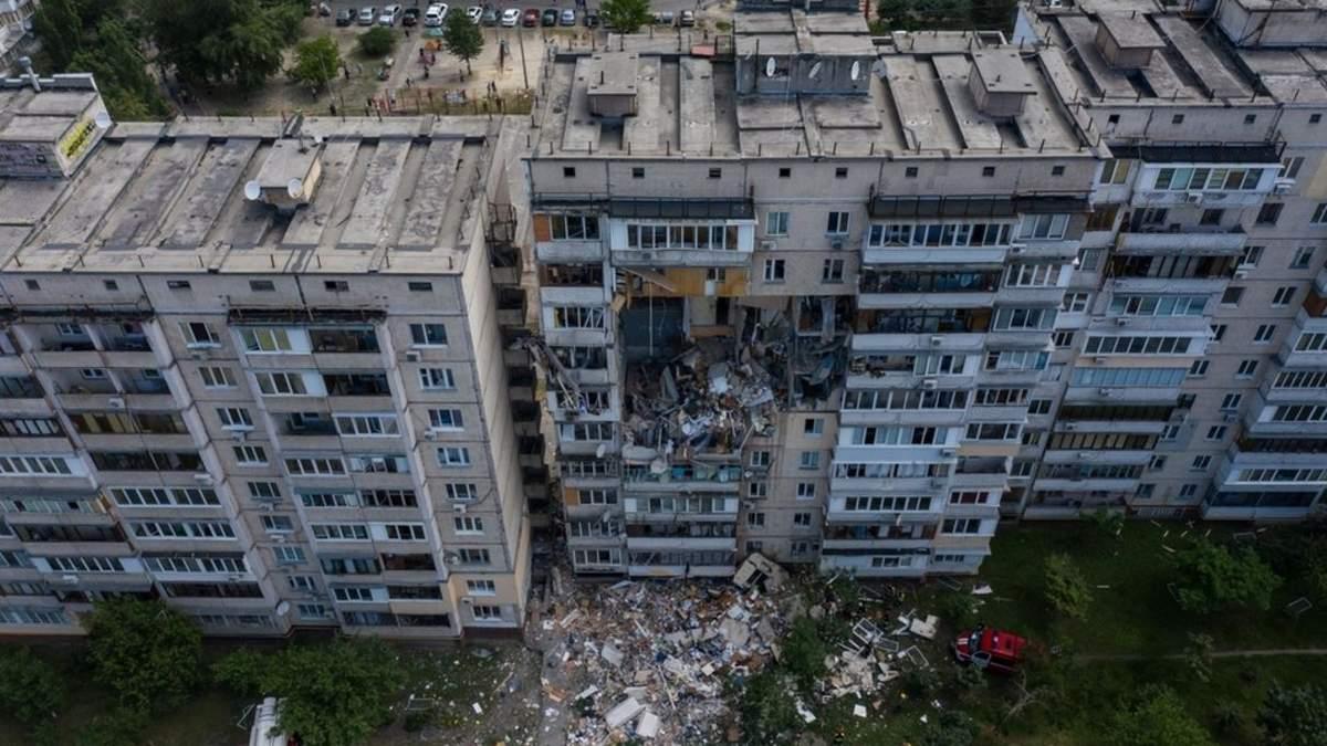 Через вибух газу на Позняках загинули 5 осіб