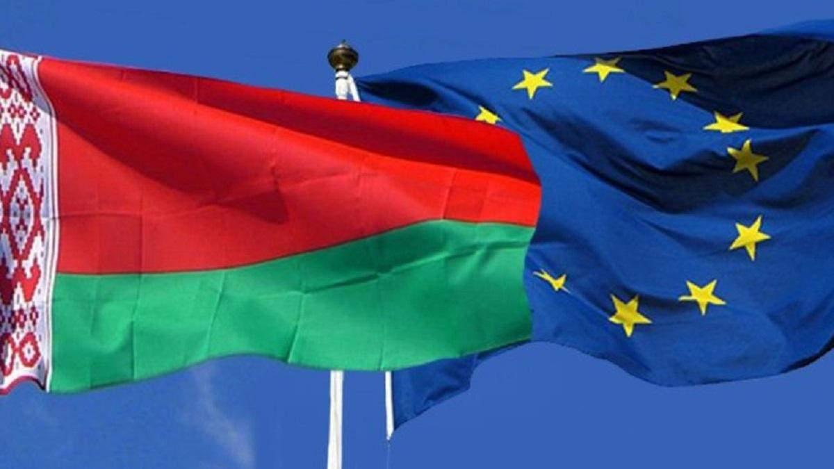 Білорусь каже, що хоче діалогу з ЄС, а не санкцій