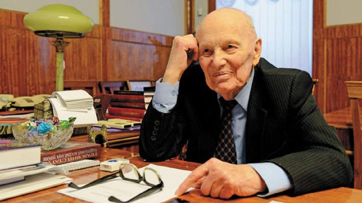 Борис Патон помер у віці 101 року