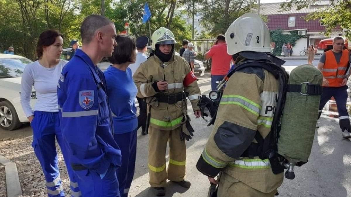 Вибух і пожежа в Севастополі 20 серпня: деталі і що відомо